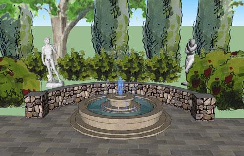 3d landscape design pictures for Help me design my garden