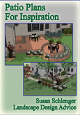 Patio designs ebook with project pictures and drawings.