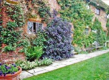 Sissinghurst is an enchanting English garden.