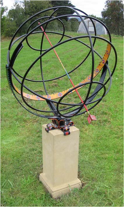 All Garden Sundials Have Two Parts. There Is The Face With The Hours Marked  On It, And There Is The Gnomon Which Is The Shadow Indicator.
