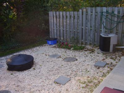 Backyard Hot Tub Location