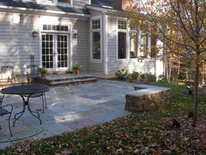 Bluestone Patio   Dry Laid