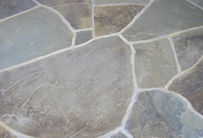 Blue Stone Patio Shapes, Sizes And Installation Methods