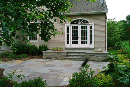 Assuming That You Donu0027t Want Concrete, The Other Options (without Breaking  The Bank!) Are Pavers, Bluestone Pavers, Bluestone And Travertine.