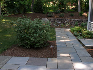 bluestone walkway tips and photos
