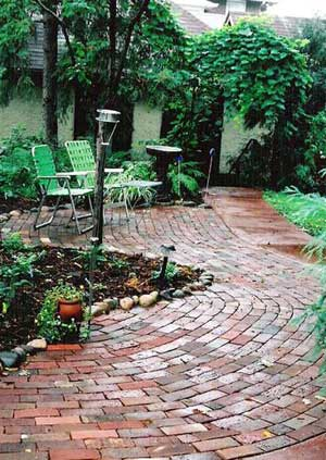 Brick Patio Design Pictures and Ideas