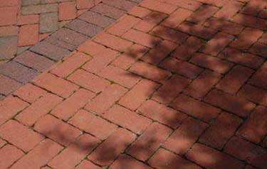 Here is a brick herringbone pattern.