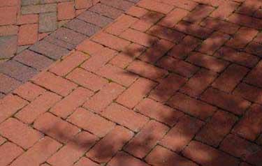 Here is a brick herringbone pattern.