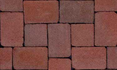 Pine Hall brick called City Cobble.