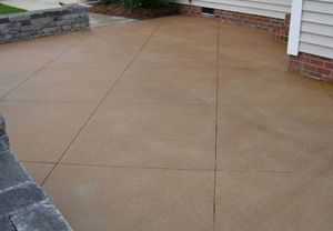 simple concrete patio designs. Delighful Patio Here Is A Very Simple Concrete Paving Design That Anyone Can Have With Simple Concrete Patio Designs E