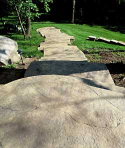 Concrete Walkways Tips For Interesting Designs