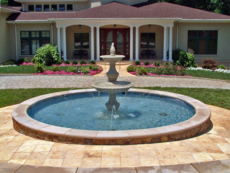 Beautiful Driveway Designs and Creative Ideas on driveway home design, parking roof design, stations for cars parking design,