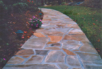 natural stone patio ideas - Natural Stone Patio Designs