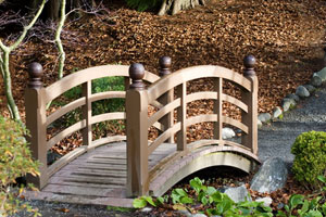 Decorative Backyard Bridges