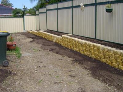 drainage and walls