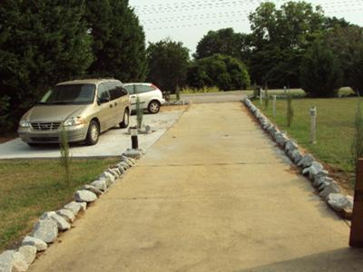Driveway Plantings and Beds