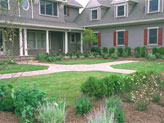 formal front yard designs