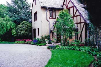 front yard design ideas with plantings