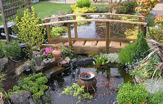 Decorative Garden Bridge Japanese Wooden