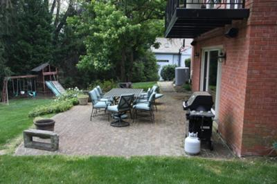 Current patio