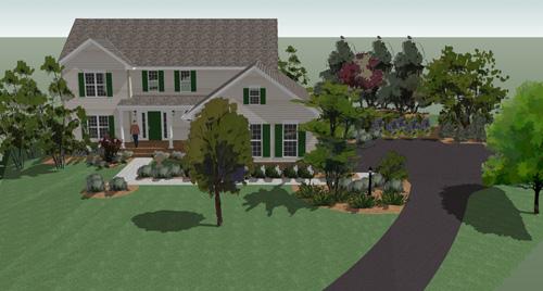 Google SketchUp Landscape Design 500 x 268