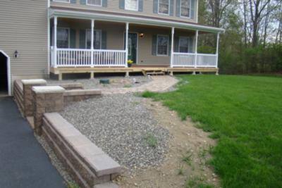 Front Porch Landscape Design