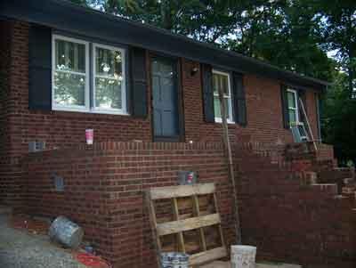 new front porch 3 - landscape design ideas