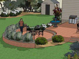 online patio design in 3D