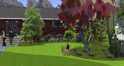 3D landscape design Sketchup