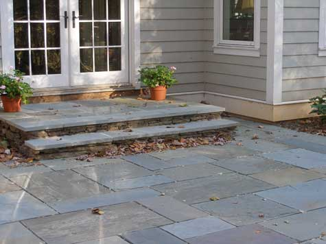 See what this patio costs. Bluestone ... - Discover Bluestone Patio Costs Per Square Foot Bluestone Pictures