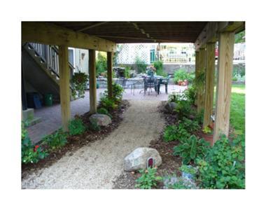 Under A Deck Garden - After