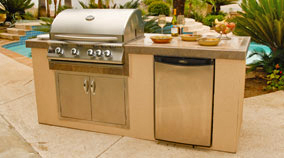 Medium image of this great kitchen island kit is offered by oxbox outdoor kitchens