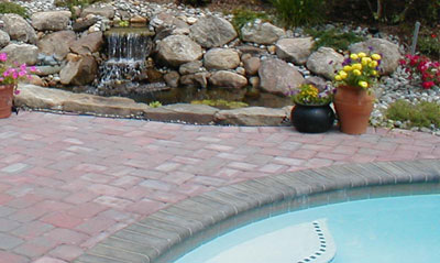 contrasting color for pool coping