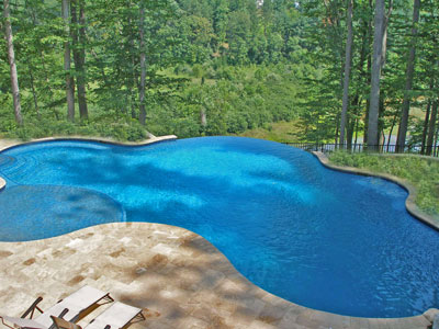 Pictures of swimming pools professional designs - Infinity edge swimming pool ...
