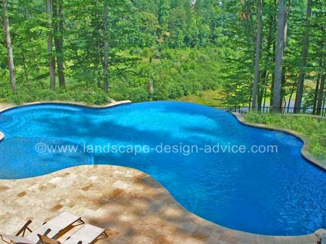 compare bluestone and travertine pavers for pool paving