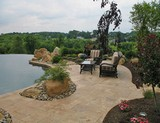 beautiful travertine pavers
