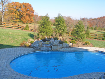 Swimming Pool Types Concrete And Vinyl Choices