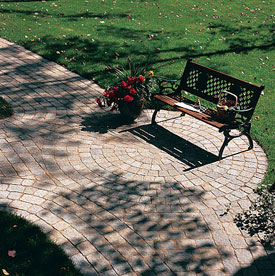 paver patio design