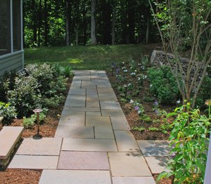 paving for front yards can be eye catching