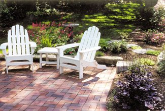 This Patio Used The Basket Weave Pattern. Itu0027s A Nice Simple Design, Is  Easy To Install And Works Well.