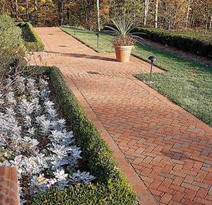 Brick walkways tips and photos for Xd garden design
