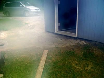 drainage issue at house