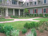 formal front yard designs