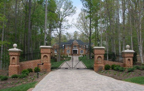 A paver driveway can be expensive.