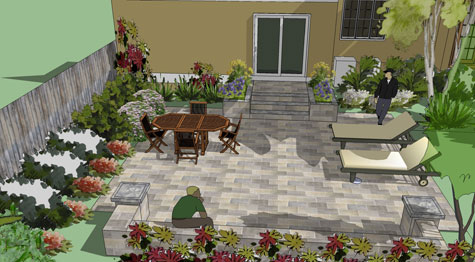 Paving Costs Choosing Hardscape Materials - Paving Costs Patio Prices