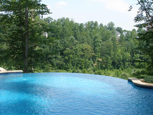 swimming pool decking can be reduced by plant