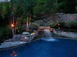 Pool landscape lighting ideas other types of lighting for pool areas aloadofball Gallery