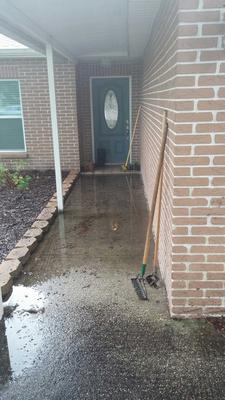 water drainage problem - water flows to house