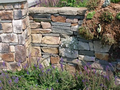 Stone Garden Walls Types Of Stone